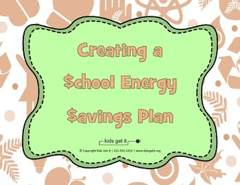 School Energy Savings Plan