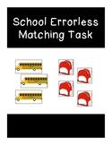 School Errorless Matching Tasks