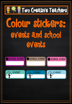School Event Markers