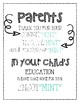 School Event 'Mint' Pun Sign