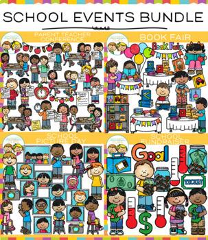 School Events Clip Art Bundle
