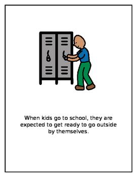 School Expectations, A Social Story