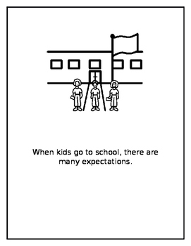 School Expectations, A Social Story