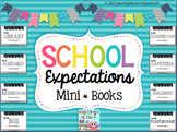 School Expectations Mini Books