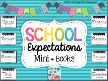 School Expectations Mini Books