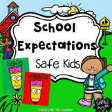 School Expectations Safe Kids PowerPoint