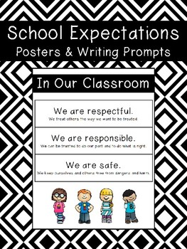 School Expectations Writing Prompt