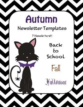 Fall Newsletters Teaching Resources Teachers Pay Teachers