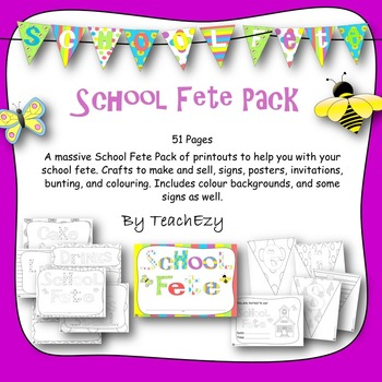 School Fete Mega Pack