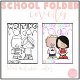 School Folder Covers
