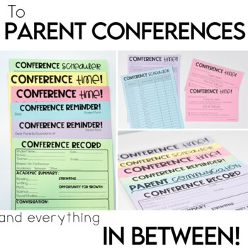 Back to School Forms and Checklists Quick Print and Editable