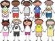 School Friends Digital Clip Art Set- GROWING BUNDLE