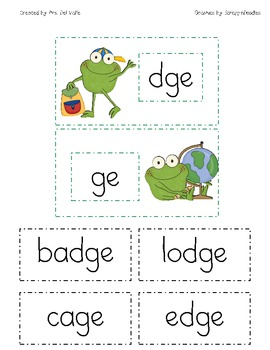school frogs dge ge wor by primary reading party teachers pay teachers. Black Bedroom Furniture Sets. Home Design Ideas