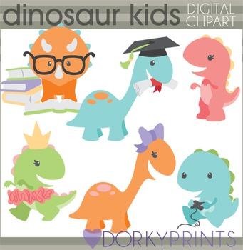 School Fun Dinosaur Clipart