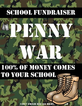School Fundraiser {Penny Wars}