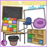 Classroom Furniture Clip Art