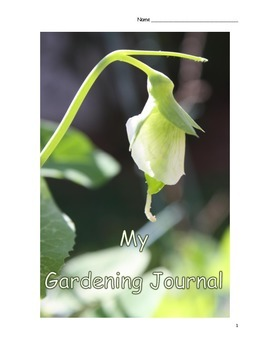 School Gardening Journal