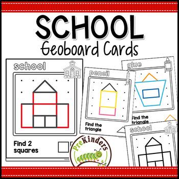 School Geoboards: Shape Activity for Pre-K Math