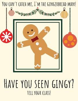 School Gingerbread Man Hunt