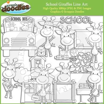 School Giraffes