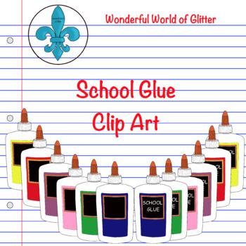 School Glue Clip Art