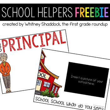 School Helpers Charts FREEBIE
