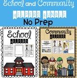 School Helpers and Community Helpers No prep bundle