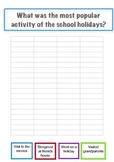 School Holiday Maths Activity - Graph