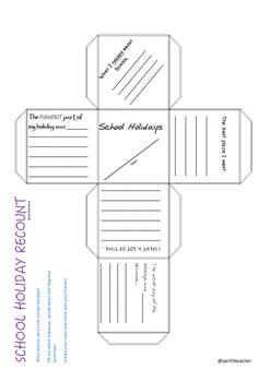 School Holiday Recount Cube