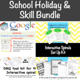 School Holidays Bundle