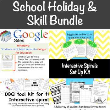 School Holidays Bundle