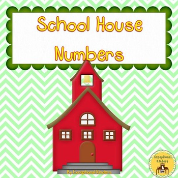 School House - Back to School Counting Mats