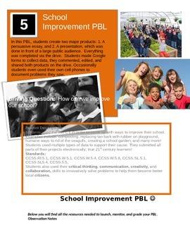 School Improvement PBL