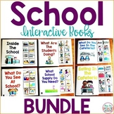 School Interactive Books BUNDLE {Adapted Books}