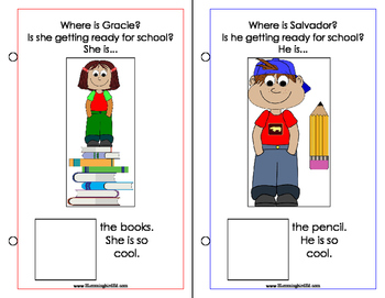 School Is Cool! An Adapted Interactive Book
