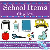 School Items Clip Art