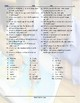 School Items-Places-Subjects Jumbled Words Worksheet