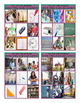 School Items, Places and Subjects Tic-Tac-Toe or Bingo