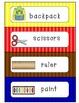 School Items Writing Center