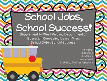School Jobs, School Success!: Supplement for WV Counseling Curriculum
