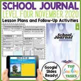 NZ School Journal Level 4 November 2020 Activities Paper a