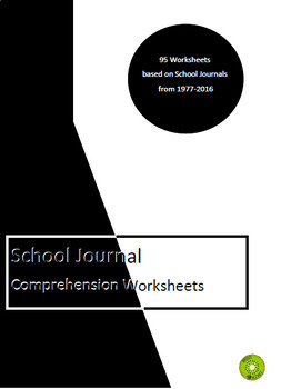 School Journals Comprehension Worksheets