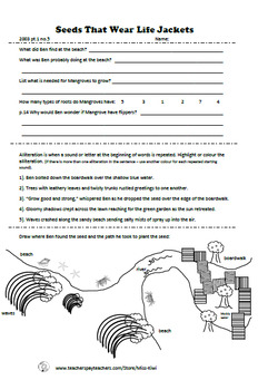 School Journal Reading Comprehension Worksheets (Part 1, Part 2, Part 3)