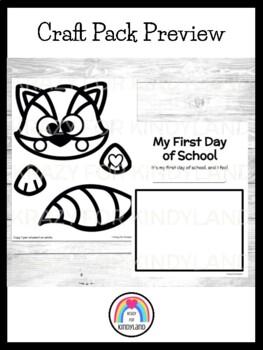 Kissing Hand Book Companion Craft and Writing: Raccoon