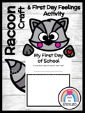 Kissing Hand Book Companion Craft and Writing for Kindergarten: Raccoon
