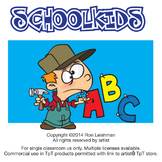 School Kids Cartoon Clipart Vol. 1
