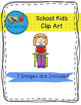 School Kids Clip Art