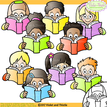 clipart reading kids clipart kids reading clipart clip art tpt rh teacherspayteachers com children reading clipart children reading clipart and graphics