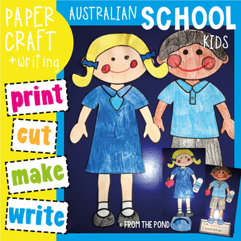 School Kids Craftivity - Perfect for Australian Back to School