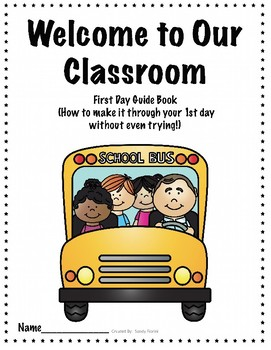 School Kids First Day Guide book